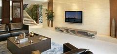 潮流的客厅地面,详解中式风格地面装修!