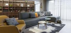现代简约风格客厅,不平凡的艺术展现!