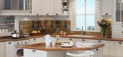 日韩风格厨房设计,展现清新古朴风!