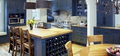 主妇梦想厨房,地中海风格之纯净与唯美!