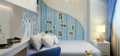 地中海风格男生卧室,装出慵懒与自由!