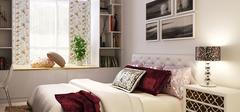 现代简约风格卧室,享受休憩的恬静!