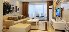 90平楼房装修设计图 两室一厅楼房装修设计图
