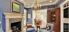 欧式家装,欧式风格客厅吊顶布局方法!