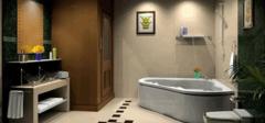 时尚卫浴间装修标准