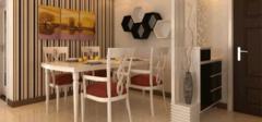 餐厅色彩与整体的和谐搭配