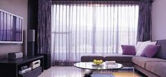 现代简约风格装修,窗帘选购与搭配!