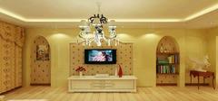 简约风格电视背景墙 打造专属你的客厅