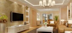 四种不同客厅墙面装饰手法