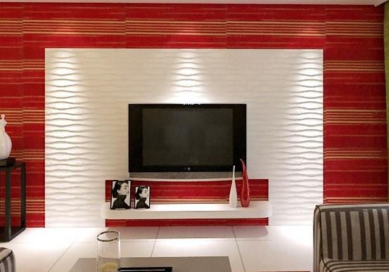日韩风格电视背景墙装修