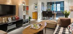 66平米一居室小户型装修图,想怎么装?