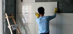 如何保质保量贴瓷砖?