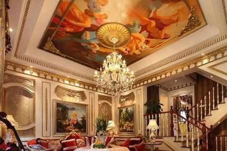 典雅、华丽的欧式吊顶效果图