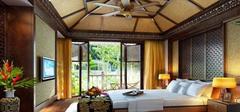 东南亚风格卧室装修,享受热带风情!