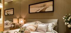 卧室背景墙混搭风格装修效果图!