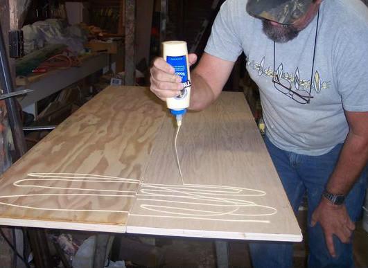 木工胶用于木材等的粘结上