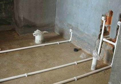 墙内水管漏水