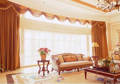 客厅窗帘的颜色