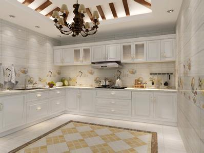 厨房墙地砖规格、防滑性选择