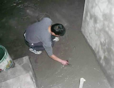 厨房防水层施工