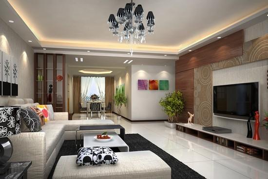 客厅装修设计图欣赏一