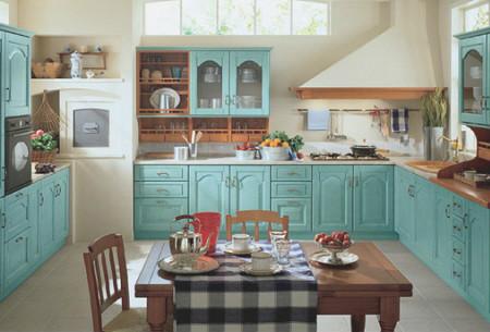 改造后一区两用的厨房