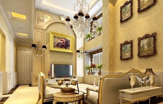 客厅装修设计图欣赏三