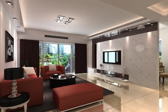 客厅装修设计图欣赏二