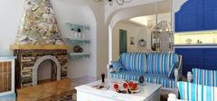 爱上地中海风格家居,法式地中海优雅勾勒!