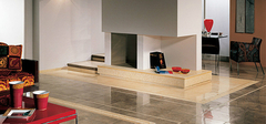 客厅地面装修用木地板好还是瓷砖好