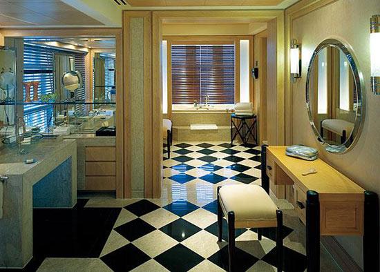 卫浴设施忌不规则形状