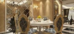 欧式风格餐厅背景墙,设计技巧罗列!