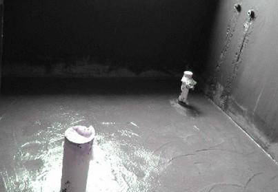 防水涂料施工图片