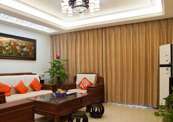 气质中式风格客厅