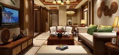 东南亚风格客厅装修,三点助你装出东南亚!