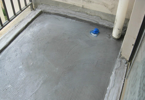 阳台地面要防水