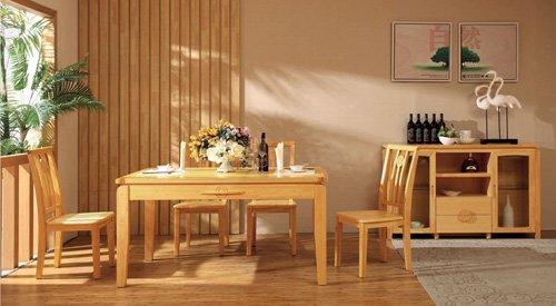 木制家具应当选用好的木材