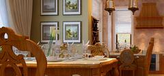 新年换新新餐,美式风格餐桌搭配!