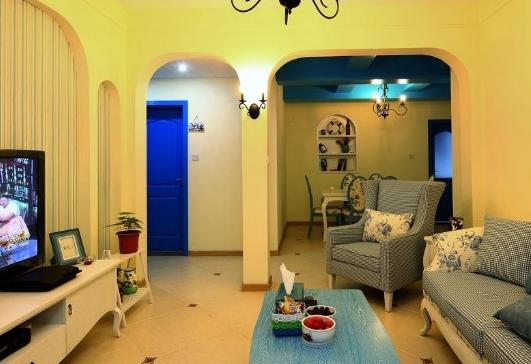 爱上地中海风格家居