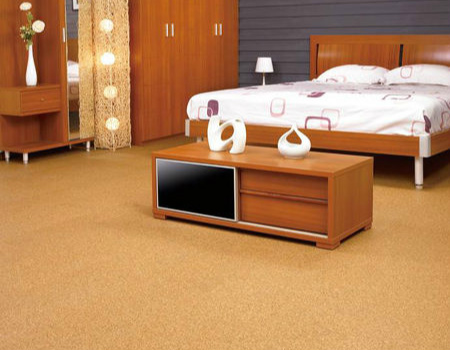 软木地板效果图