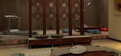 120平米空间,日式风格家居装修!