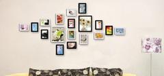 客厅照片墙风水,可以挂宝宝照片吗?