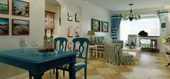 地中海风格别墅装修,深宫的异域风情!