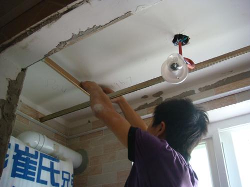 膏板吊顶施工