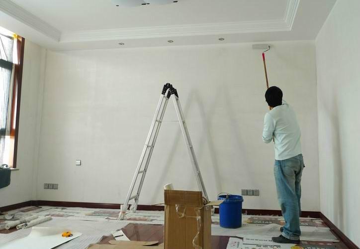 更换墙面颜色