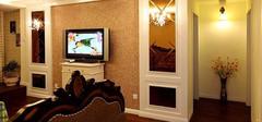 微晶石电视背景墙是家装中的重点
