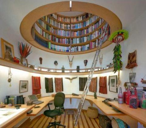 创意书房装修设计