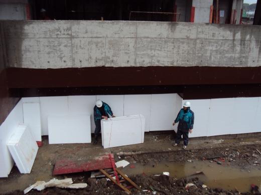 地下室防水涂料施工