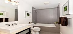 精巧洁净卫浴的设计技巧  卫浴装修效果图