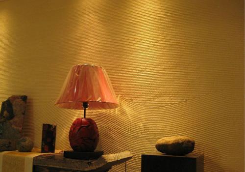 硅藻泥背景墙效果图